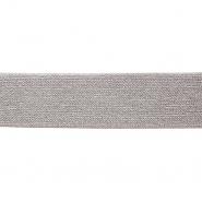 Elastika, 50 mm, šljokice, 17136-42588, bež