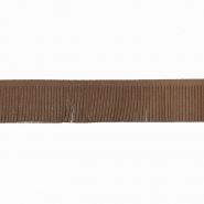 Fransen, Wildleder, 3 cm, 17276-41350, braun