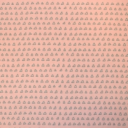 Jersey, bombaž, geometrijski, 18536-12, roza