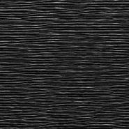 Pletivo, črte, 18549-069, črno bela