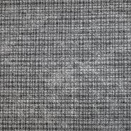Pletivo, melanž, 18552-169, črno siv