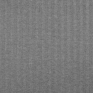 Pletivo, debelejše, ribja kost, 18562-169, črno bela