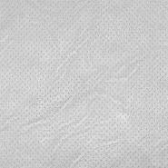 Umetno usnje, oblačilno, pike, 18568-061, srebrna