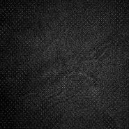 Umetno usnje, oblačilno, pike, 18568-069, črna