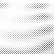 Cotton, poplin, dots, 10059-446