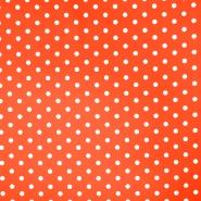 Bombaž, poplin, pike, 17952-005, oranžna