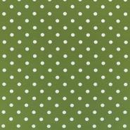 Jersey, pamuk, točke, 17132-5032, zelena