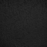 Pletivo, žakard, abstraktni, 18613-069, črna