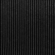 Pliš, rebrast, 18622-069, črna