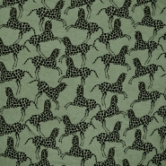 Jersey, Viskose, tierisch, 18625-027, grün