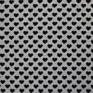 Prevešanka, srčki, 18645-063, siva