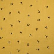 Tetra tkanina, dvojna, tropski, 18656-034, rumena