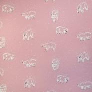 Prevešanka, kosmatena, živalski, 18585-004, roza