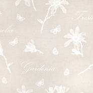 Deko, tisk, cvetlični, 15188-173