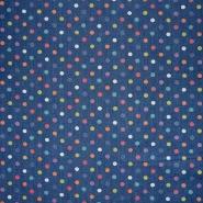 Jeans, točke, 18593-0801, plava