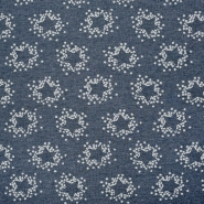 Sweatshirtstoff, 18597-3003, blau