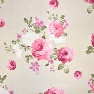 Deko, tisak, cvjetni, 18671-01