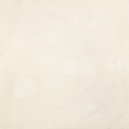 Taft, vezen, krogi, 18678-01, smetana