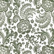 Čipka, elastična, 18697-215, zelena