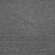 Pletivo, tanje, viskoza, 17837-999, crno-srebrna