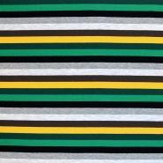 Jersey, bombaž, črte, 17662-60907