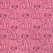 Prevešanka, živalski, 18733-62353, roza