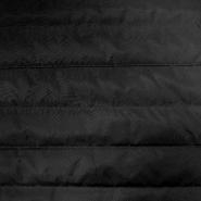 Prošiven materijal, crte, 18719-6933, crna