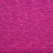 Poliester, elastan, melanž, 18738-02, roza