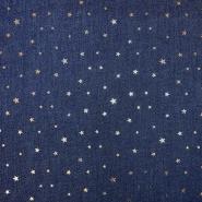Jeans, zvezde, 18754-008, modra