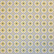 Deko žakard, retro, 18791-1, žuta