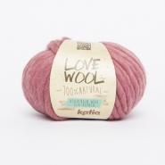 Vuna, Love Wool, 15053-124, alt ružičasta