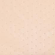 Chiffon, Polyester, Punkte, 18816-033, aprikose