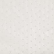 Šifon, poliester, pike, 18816-051, smetana