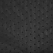 Šifon, poliester, pike, 18816-069, črna
