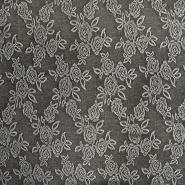Prevešanka, cvetlični, 18615-069, siva