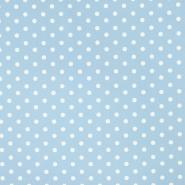 Bombaž, poplin, pike, 17952-020, modra