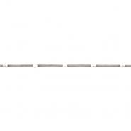 Trak, semiš s perlami, 18839-44310, siva