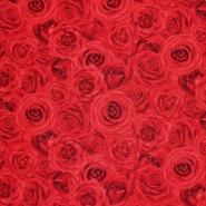 Bombaž, poplin, cvetlični, 17663-26