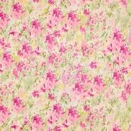 Baumwolle, Popeline, floral, 17663-40