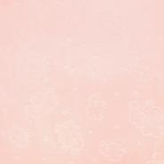 Velours, Coral, beidseitig, tierisch, 18853-4, rosa