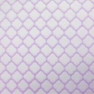 Velours, Coral, geometrisch, 18859-3, violett
