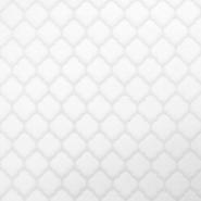 Velours, Coral, geometrisch, 18859-4, weiß