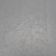Umetno usnje, Ecaille, 18864-960, srebrna