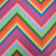 Umjetna koža, Rainbow, cik cak, 18871