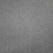 Deko žakard, cik cak 18884-452, svetlo siva