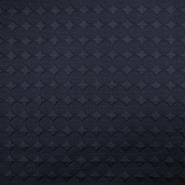 Pletivo, geometrijski, 18614-008, tamnoplava