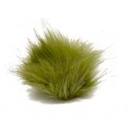 Cof, umetno krzno, 8cm, 18887-015, zelena