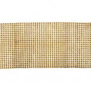 Netzstoff, dekorativ, 18903-100, gold