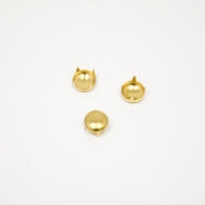 Dekorative Nieten, Kreis,18045-100, golden