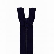 Reißverschluss, spiralig, 70cm, 6mm, 18301-730, blau